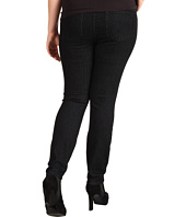 Lucky Brand - Plus Size Pull-On Denim Legging in Black Overdye