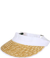 Cheap Lauren Ralph Lauren Hamptons Beach Visor White Natural