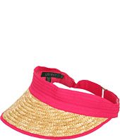 Cheap Lauren Ralph Lauren Hamptons Beach Visor Helena Pink Natural