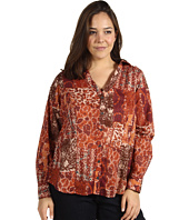 Lucky Brand - Plus Size Joan Patchwork Blouse