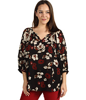 Lucky Brand - Plus Size The Traveler Printed Top