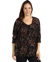 Lucky Brand - Plus Size Lace Shadows Hera Top