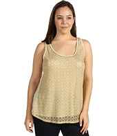 Lucky Brand - Plus Size Gilded Lace Tank Top