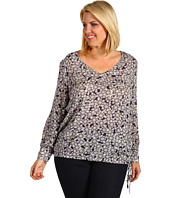 Lucky Brand - Plus Size Farrah Printed Top
