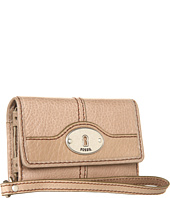 Cheap Fossil Marlow Phone Wristlet Taupe