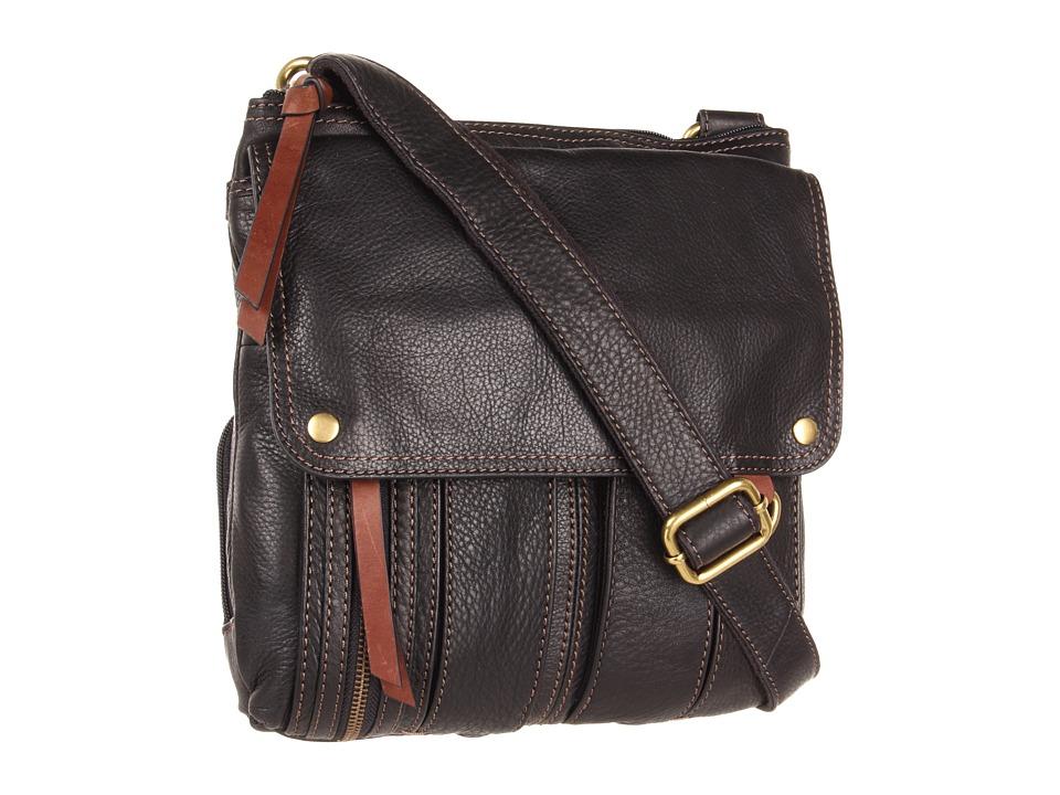 Fossil - Morgan Traveler (Black) Cross Body Handbags
