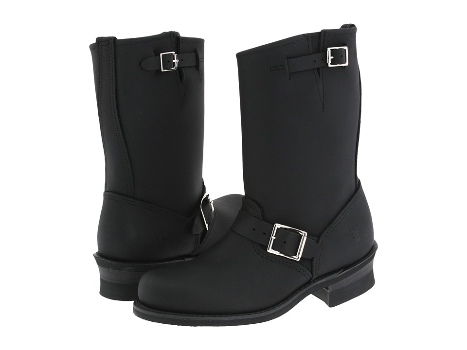 Frye Engineer 12R W (Black) Women
