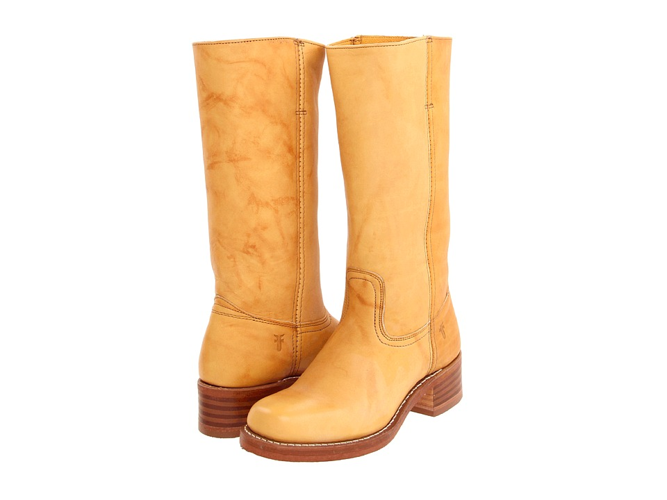 Frye Campus 14L (Banana Leather) Cowboy Boots