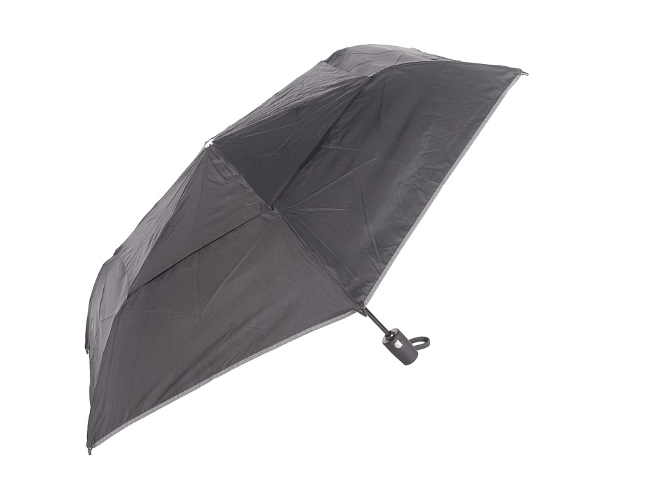 Tumi - Medium Auto Close Umbrella (Black) Compact Umbrella