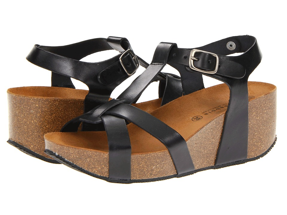 Eric Michael Amy Black Womens Sandals
