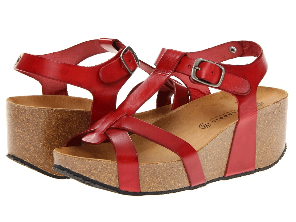 Eric Michael Amy Red Womens Sandals