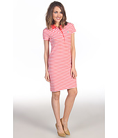 Lacoste - S/S Stretch Pique Bi-Color Stripe Polo Dress