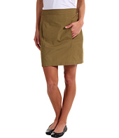 Lacoste - Lightweight Poplin Above the Knee Skirt