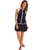 Lacoste - Sleeveless Technical Pique Pleated Tennis Dress