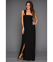 Halston Heritage - One Shoulder Strap Flowy Gown
