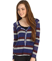 Free People - Striped Old School Henley