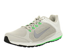 Nike - Zoom Elite+ 6 (Summit White/Gamma Grey/Poison Green/Reflective Silver) - Footwear