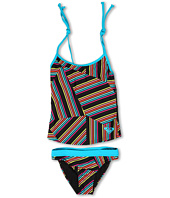Roxy Kids - Tidal Sail Strappy Tankini Set (Big Kids)