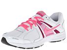 Nike Dart 10 (White/Fusion Pink/Metallic Silver/Digital Pink)