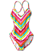 Roxy Kids - Caliente Sun Cross Over Monokini (Big Kids)