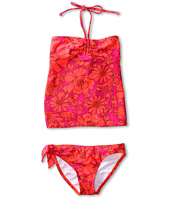 Roxy Kids - Sea Doll Drawstring Tankini Set (Big Kids)