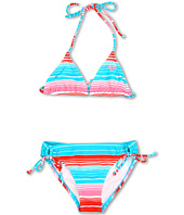 Roxy Kids - Carefree Cruisin' Tiki Tri Set (Big Kids)