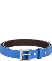 Cheap Cole Haan Slim Tailor Belt Empire Blue Reflective