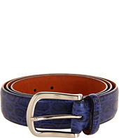 Cole Haan - Croc Embossed Belt