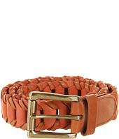 Cheap Cole Haan Multicolor Woven Belt Camello Corporate Orange
