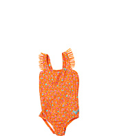 Roxy Kids - Sand Blossom Ruffle One Piece (Toddler/Little Kids)