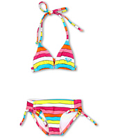 Roxy Kids - Caliente Sun Tiki Tri Set (Toddler/Little Kids)