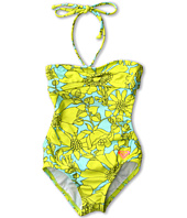 Roxy Kids - Sea Doll Shirred One Piece (Toddler/Little Kids)