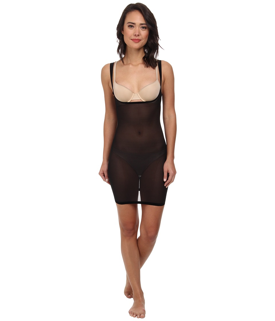 Wolford Tulle Forming Dress (Black) Women's Dress