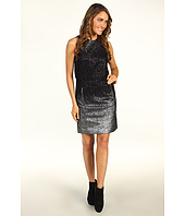 MICHAEL Michael Kors - S/L Crew Neck Metallic Dress