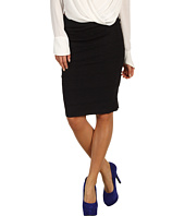 DEPT - Lace Heavy Jersey Pencil Skirt