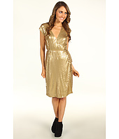 MICHAEL Michael Kors - S/L Sequined Wrap Dress