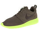 Nike - Roshe Run (Tarp Green/Volt/Volt/Deep Smoke) - Footwear