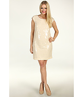 Suzi Chin for Maggy Boutique - Cap Sleeve Sequined Shift Dress