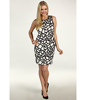 Suzi Chin for Maggy Boutique - Abstract Sequined Shift Dress