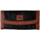 The Sak Iris Flap Wallet (Black Onyx)