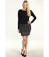 Suzi Chin for Maggy Boutique - L/S Demeter Sequin Dress