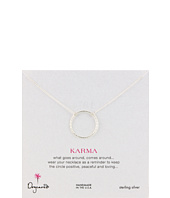 Dogeared Jewels - Medium Sparkle Karma Necklace