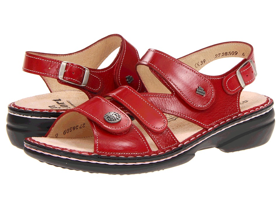 Finn Comfort Gomera 82562 Red Womens Sandals