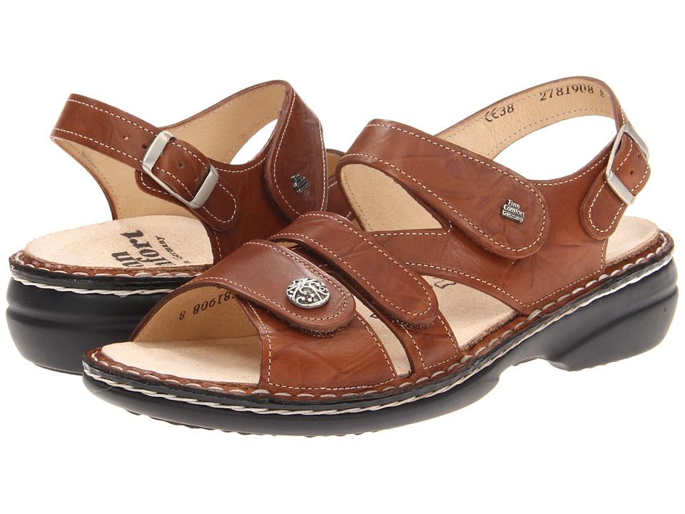 Finn Comfort Gomera 82562 (Cognac) Sandals