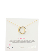 Dogeared Jewels - Medium Multi Link Sparkle Karma Necklace