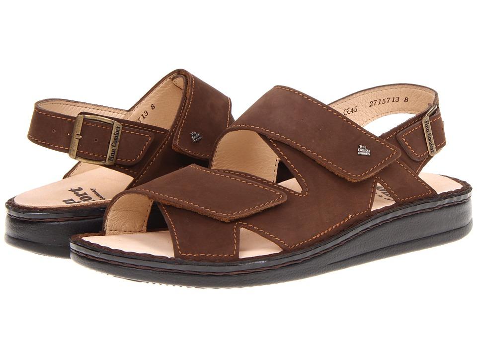 Finn Comfort - Soft Toro - 81528 (Wood) Mens  Shoes