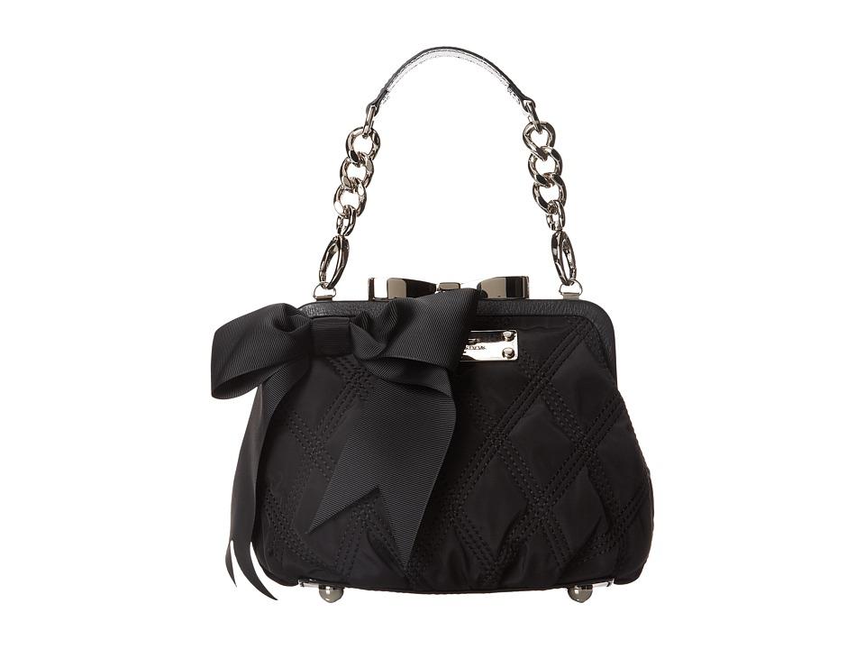 My Flat In London Mini Madison Frame Bag Black Handbags