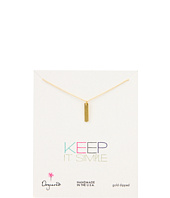 Dogeared Jewels - Keep It Simple Long Bar Necklace