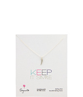 Dogeared Jewels - Keep It Simple Little Horn Necklace