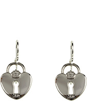 My Flat In London - Queen of Hearts French Wire Earrings